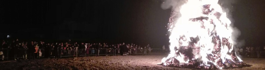 Lignano Sabbiadoro Pignarûl, the new year bonfire that brings good fortune