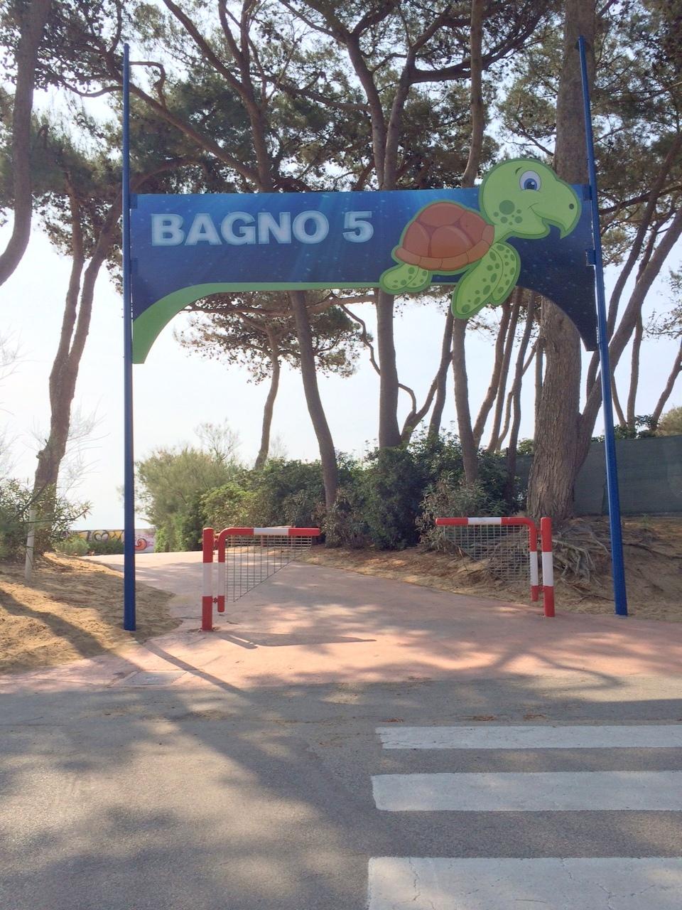 5 bagno 5 beach establishment lignano sabbiadoro for Bagno 5 lignano riviera