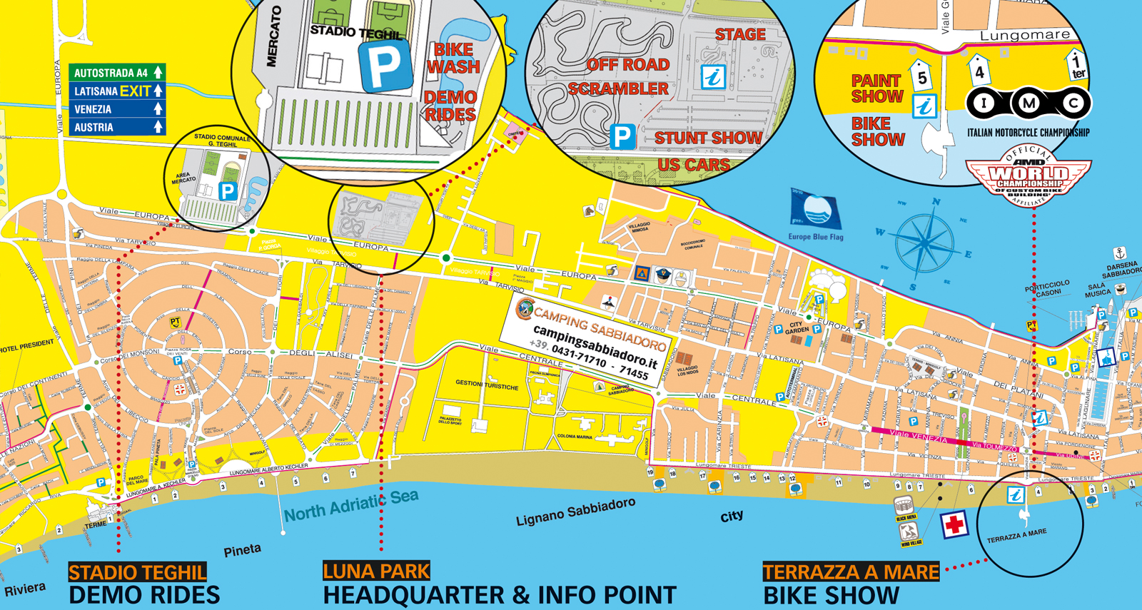 29 Bikerfest International Lignano Sabbiadoro