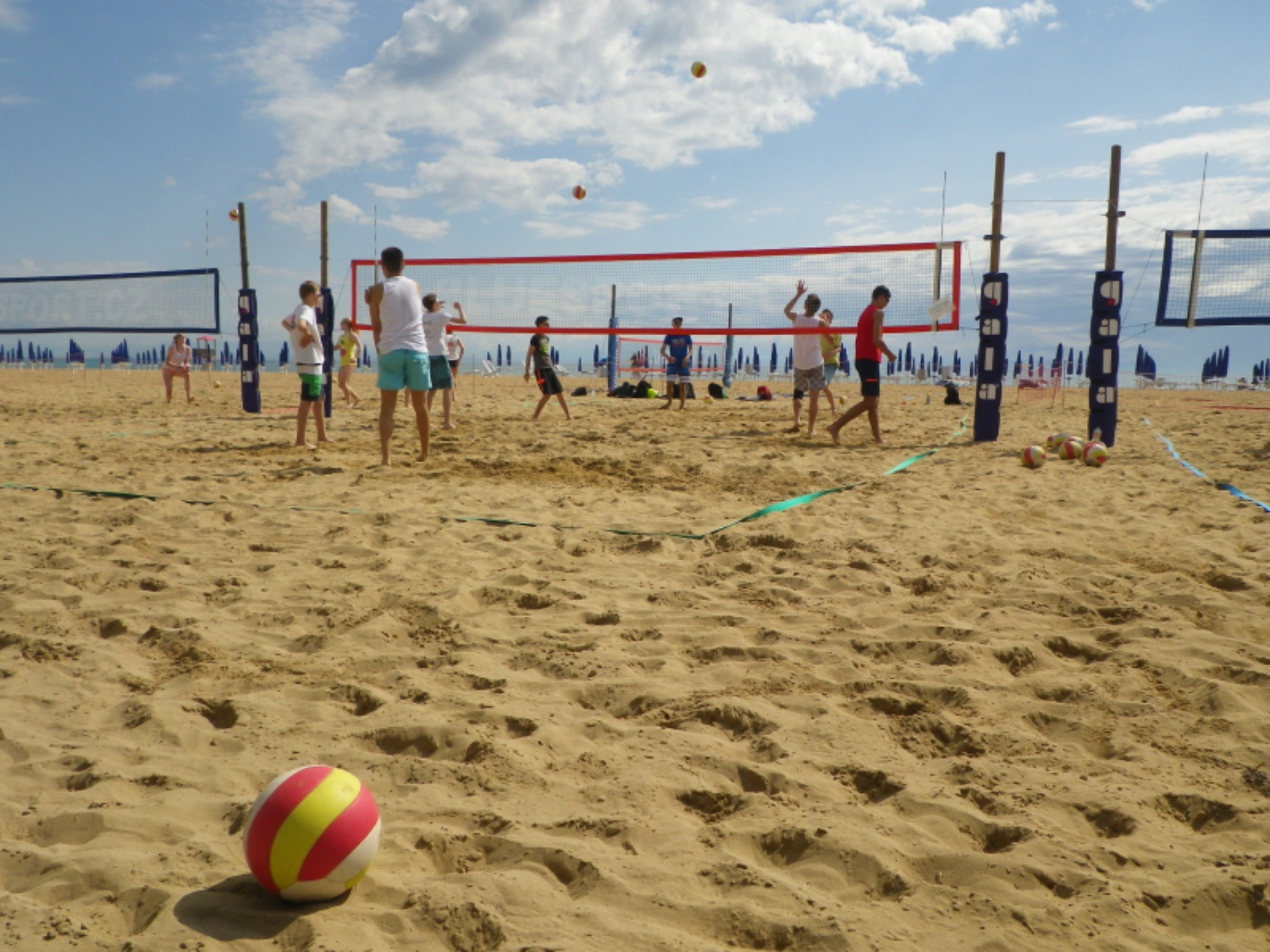 Beach-Volleyballfelder Ge.Tur. ©BlueSport.cz