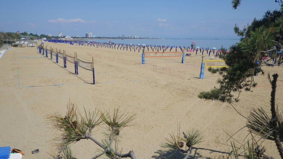 Campi Beach Volley a Lignano ©BlueSport.cz