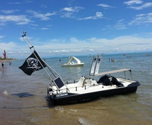 Photo Boat in Lignano Pineta
