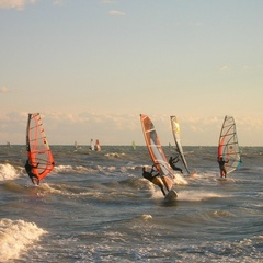 Windsurfing in Lignano