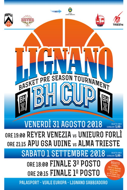 Lignano BH Cup - Basket pre-season tournament