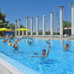 Acquagym allo Sporting Club di Lignano