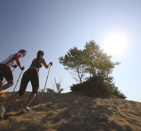 Nordic Walking a Lignano