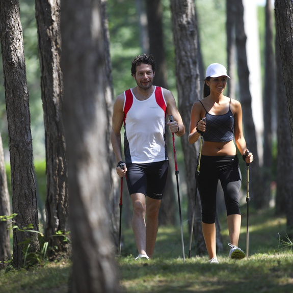 Nordic Walking in pineta a Lignano
