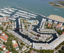 Aerial View of Marina Punta Faro