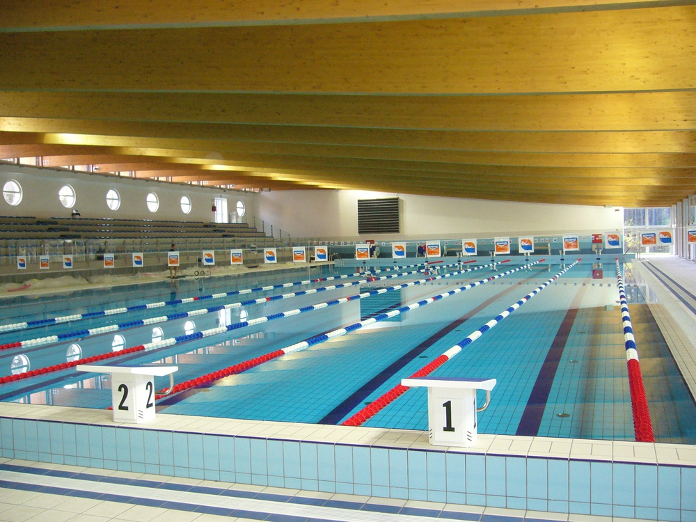 indoor olympic pool. The Olympic Pool In Lignano Indoor