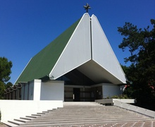 Cristo Redentore Church in Lignano Pineta