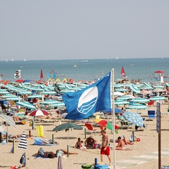 Blue Flag at establishment 19 in Lignano