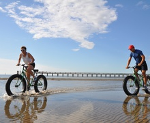 Escursione in Fat Sand Bike a Lignano