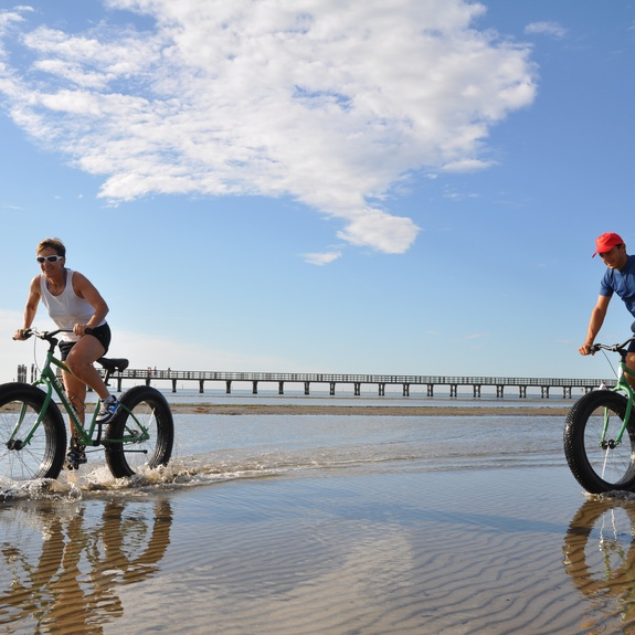 Escursione in Bici Fat Bike a Lignano