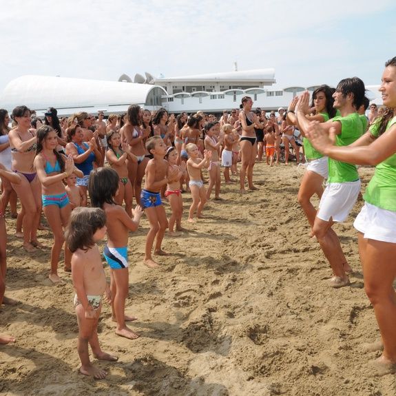 Baby Dance on the beach