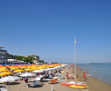 Beach in Lignano Sabbiadoro