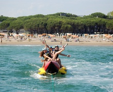 Banana Boat in Lignano Adrenalina