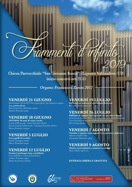 Frammenti d'infinito 2019