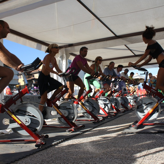 Spinning-Kurs am Strand in Lignano