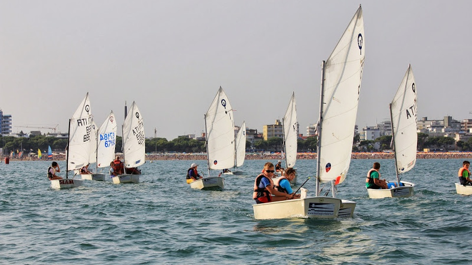 Sailing lesson in Lignano