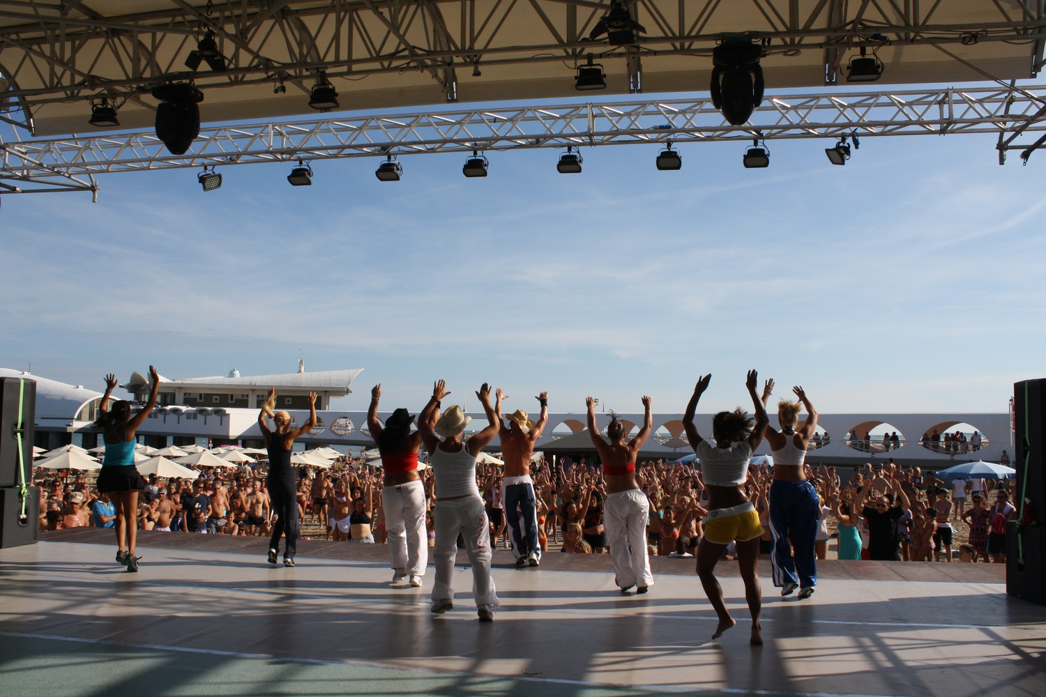 Macumba al Beach Village di Lignano