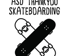 The logo of ASD Thankyouskateboarding