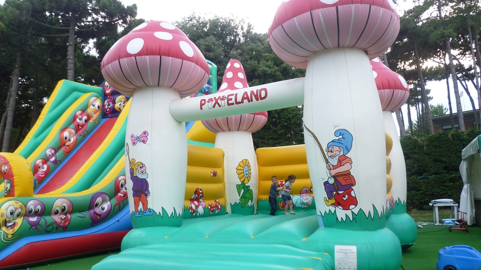 Bouncy Castle at the I Gommosi Park