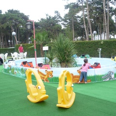 I Gommosi Play Park in Lignano Pineta
