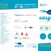 Programma Easy Fish Lignano 2016