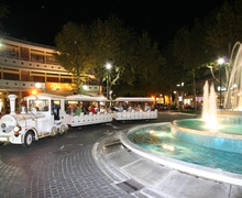 Lignano Express Train in Piazza Fontana