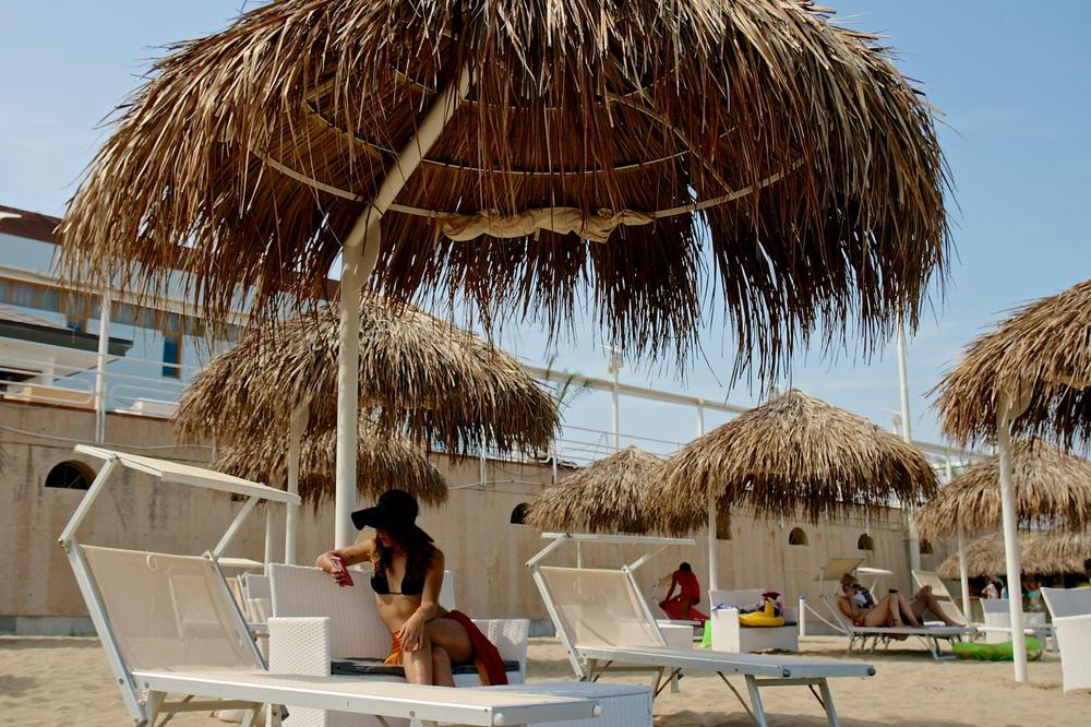 Riviera 1 tropical beach lignano sabbiadoro for Bagno 5 lignano riviera