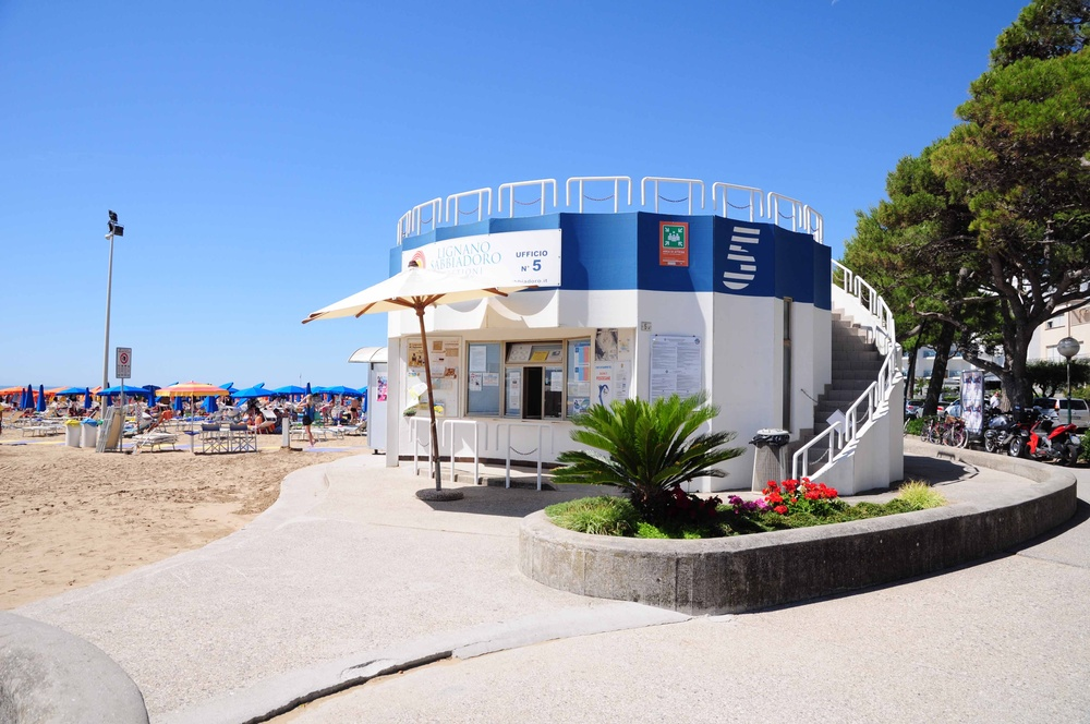 5 Pescecane Beach Establishment Lignano Sabbiadoro