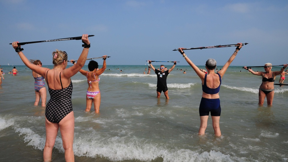Water Nordic Walking