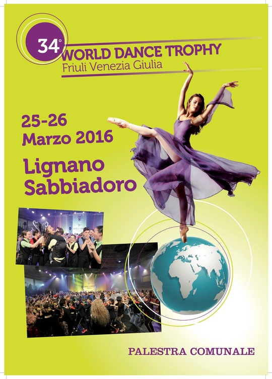 34 World Dance Trophy Lignano