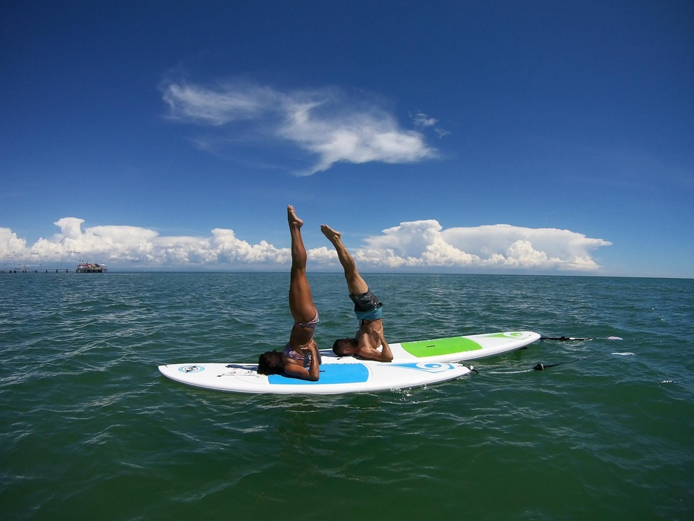 Stand up paddleboard yoga lignano sabbiadoro for Bagno 7 bis lignano pineta