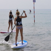 Stand Up Paddleboarding in Lignano