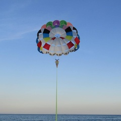Parasail in solitario