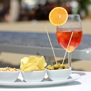 Happy Hour in spiaggia a Lignano