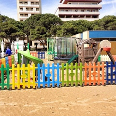 Play area at Lido del Sole