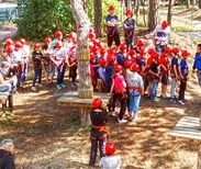 Children at the Lignano Adventure Park