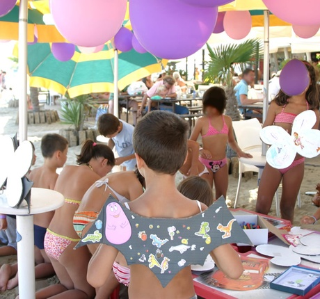 Entertainment at the Baby Party in Lignano
