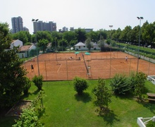 Tennismo facility in Lignano