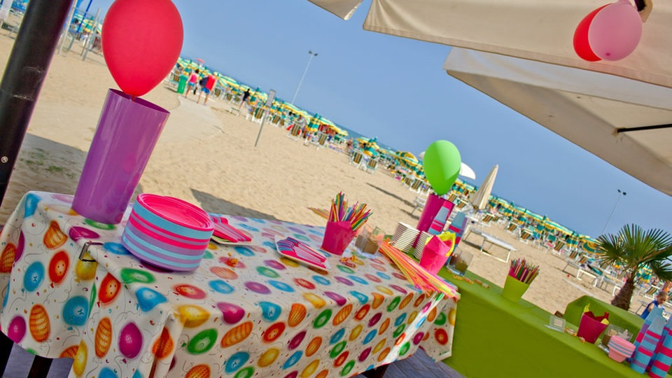 Baby Party in spiaggia a Lignano