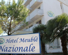 Exterior of Hotel Meuble Nazionale