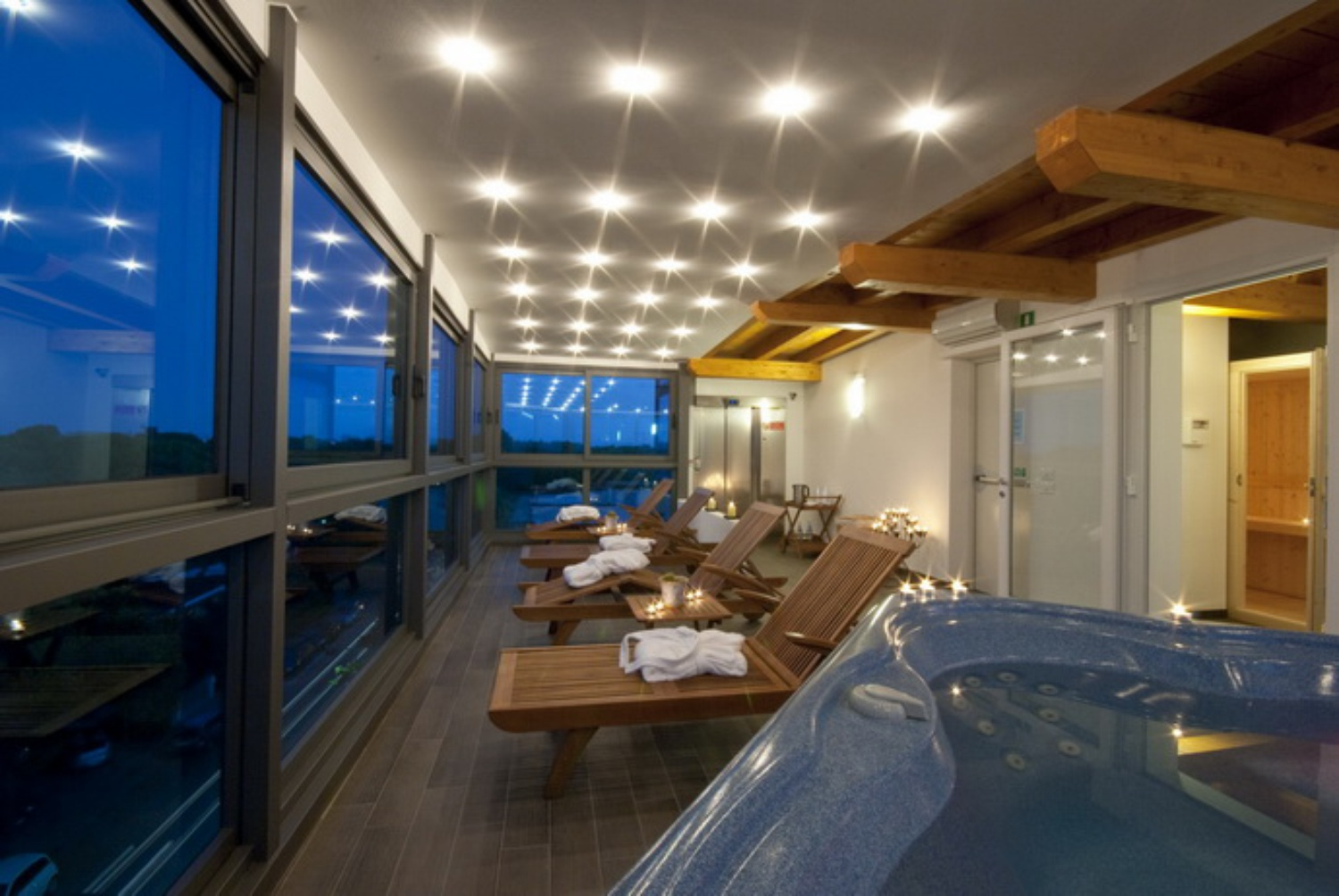 Spa im Hotel Bellevue in Lignano