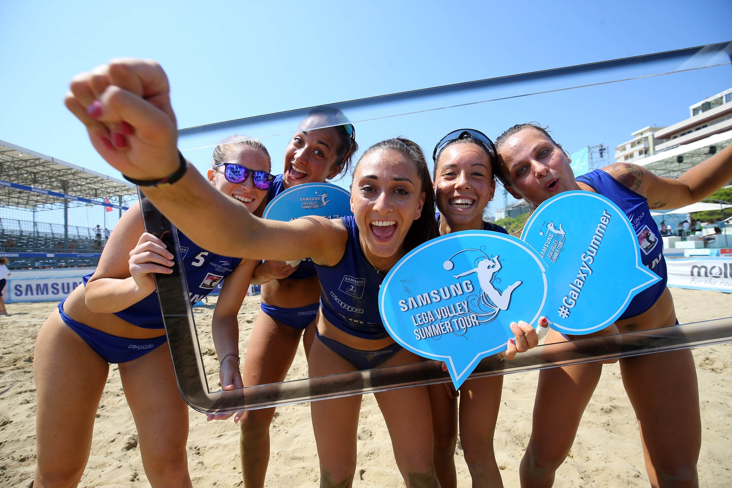 Foto di Samsung Lega Volley Summer Tour 2018