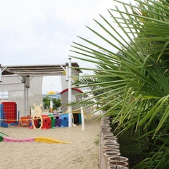 Play area at Lido City in Lignano