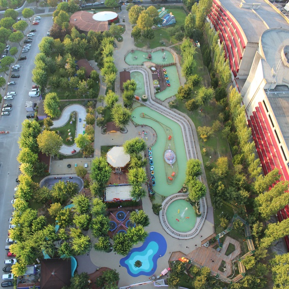 Aerial View of the Junior Park