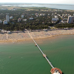 Aerial photo of establishment 5 in Lignano Pineta
