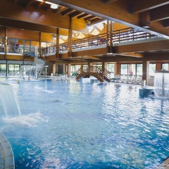 Indoor pool at Bibione Thermae