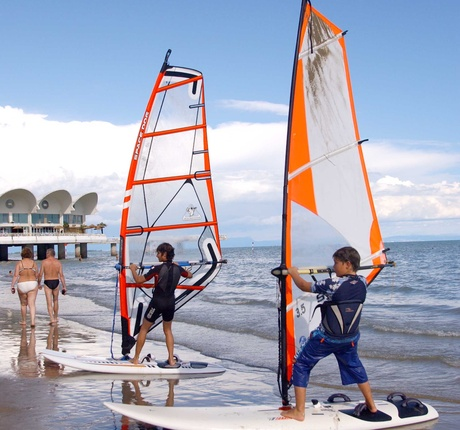 Gimmi Windsurfing School in Lignano